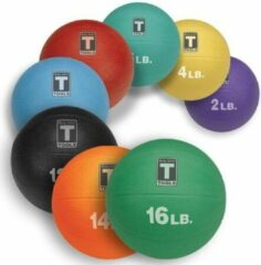 Gele Medicine Ball 1,8KG - Body-Solid 4 LB