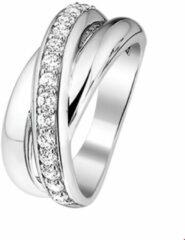 Quickjewels huiscollectie Huiscollectie 1314779 Zilveren zirkonia ring