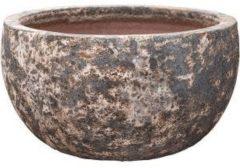 Baq Design Lava Relic Rust metal bowl bloempot 52x29 cm