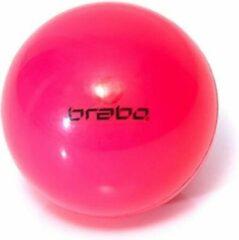 Merkloos / Sans marque Hockeybal glad roze - no logo