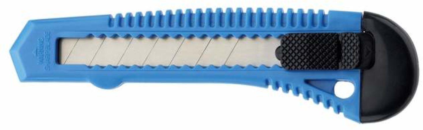 Afbeelding van Snijmes Westcott Office 18mm met kunststof houder blauw