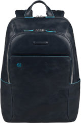 Blauwe Piquadro Blue Square Backpack night blue