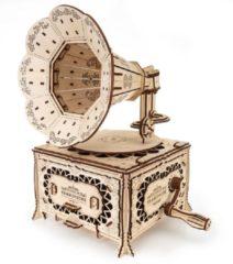 Eco-wood-art Modelbouwpakket Gramophone 31,5 Cm Hout 357-delig