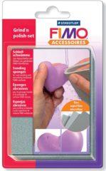 Grijze FIMO - STAEDTLER Fimo slijpspons