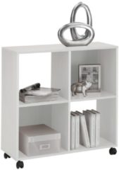 Witte FD Furniture Trolley open kast Mega 4 - Wit