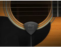 IK Multimedia iRig Acoustic gitaarinterface/modelling software
