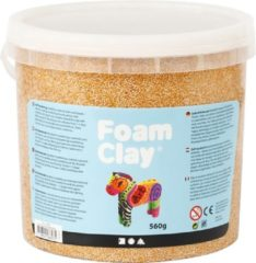 Foam Clay Foam Clay metallic goud 560 gram