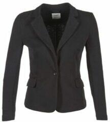 Zwarte Vero Moda VMJULIA LS BLAZER DNM NOOS Dames Blazer - Maat 42