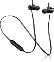 Lenco EPB-030 - Draadloze oordopjes lichtgewicht met bluetooth en sweatproof design - Zwart