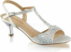 Fabelicious Fabulicious Hoge hakken -37 Shoes- AUDREY-05 US 7 Zilverkleurig