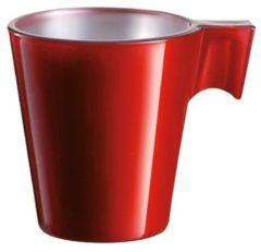 Rode Luminarc Espresso kopje rood