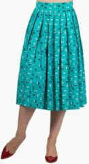 Dancing Days Rok -4XL- BRIGHT LIGHTS Turquoise