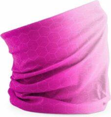 Roze Beechfield Morf , Geo pink faceshield,bandana, gezichtsmasker geomatric pink