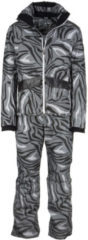 Grigio Emporio Armani EA7 Tuta da sci uomo giacca pantaloni invernale