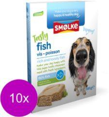 Smølke Smolke vers gestoomd vis hondenvoer 395 gr