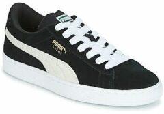 Witte Puma Suede Sneakers - Maat 39 - Jongens - zwart/wit
