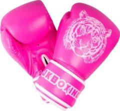 JKBOXING bokshandschoenen 10 oz. Roze