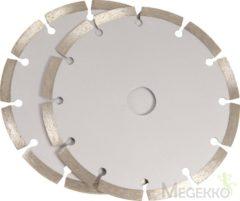 Ferm WSA1002 Diamant-doorslijpschijf Diameter 150 mm 2 stuks