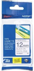 Labeltape pastel Brother TZe, TZ TZe-MQE31 Tapekleur: Pastelroze Tekstkleur:Zwart 12 mm 4 m