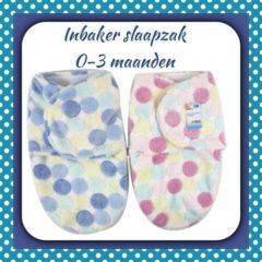 Blauwe First Steps Babyslaapzak Blauw