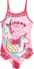Roze Badpak Peppa Pig maat 98