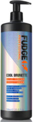 Fudge Cool Brunette Blue Toning Conditioner 1000 ml - Conditioner voor ieder haartype