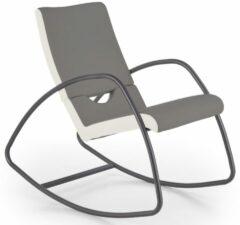 Home Style Fauteuil Balance in grijs met wit