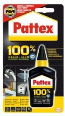 Bruna Lijm Pattex 100% tube 50gram op blister