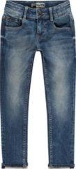 Blauwe Raizzed Jongens Slim fit Jeans - Dark Blue Stone - Maat 128