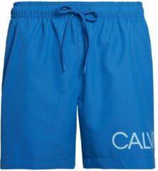 Turquoise Calvin Klein heren zwembroek Drawstring - imperial blauw-L