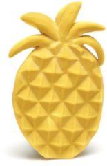 Gele Lanco Toys Lanco - Rubberen bijtspeeltje Ananas