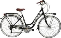 Cicli Cinzia 28 ZOLL CINZIA BEAUTY HOLLAND FAHRRAD 6-GANG Citybike Damen schwarz