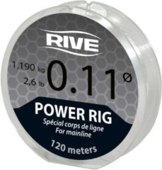 Rive Power Rig Line | 0.11 | 120m | Transparant