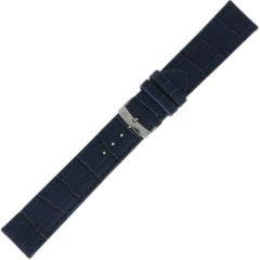 Morelatto Horlogebandje Juke Alligator Blauw 20mm