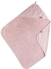 Roze BamBam Organic Badcape Pink