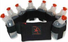 Zwarte Perfekta of Sweden Perfekta - Hardloopgordel, runningbelt - 8 flesjes, size S