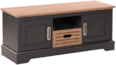 Beliani GARET - TV-meubel - Grijs - Vezelplaat