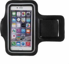 Eforyou - huismerk Sport armband voor iPhone SE (2020) / 7 / 8 / 6s / 6 - zwart