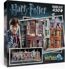 Selecta Spel en Hobby Wrebbit 3D Puzzel - Harry Potter Diagon Alley - 450 stukjes