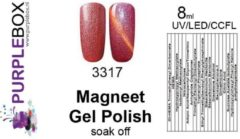 Rode Purplebox Magneet Gel Polish