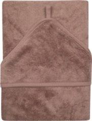 Paarse Timboo XL badcape - Mellow Mauve