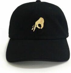 Beige Dad Brand Pet GOT 'EM - Premium Baseball Cap - Zwart - One-Size Dad Pet Heren