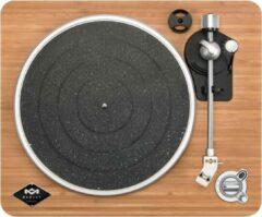 Zwarte House of Marley Stir It Up Wireless Bluetooth Platenspeler - Audio Technica Naald - USB