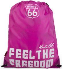 Roze Sporttas Route 66 Noord-Carolina