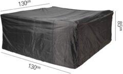 Antraciet-grijze Tuinmeubelhoes Tuinset 130x130xh85 - Aerocover