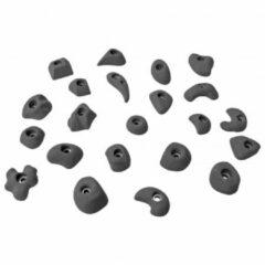 KMZ Holds - Set 3 - Klimgrepenset S 22 st. grijs/zwart