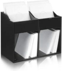 Zomo LP vinyl kast meubel voor 400-480 platen (Zwart)