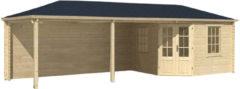 Blokhut 45mm Bertil (39m2 shingles)