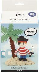 Creotime Silk Clay Knutselset Piraat Peter 6-delig