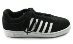 Zwarte K-Swiss Court cheswick jr sneaker
